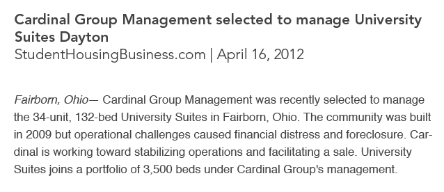 Cardinal Group Management Services