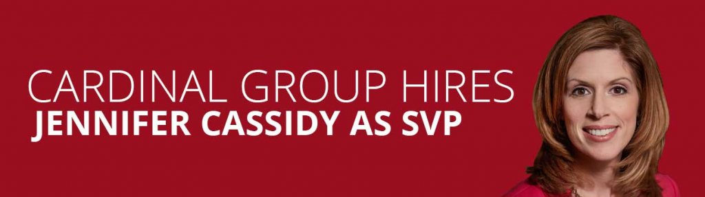 jennifer cassidy hired as svp 1024x287 - Cardinal Group Management ​Hires Jennifer Cassidy as SVP